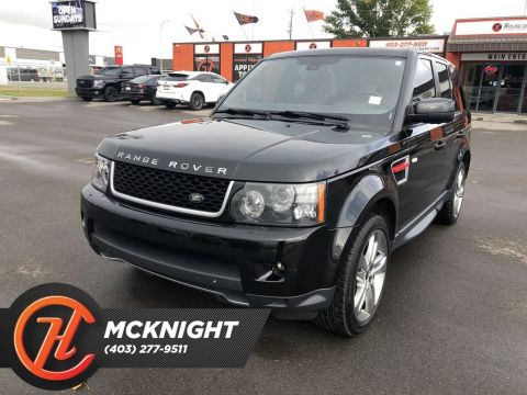 Pre-Owned 2013 Land Rover Range Rover Sport Supercharged / Leather / Sunroof / Cam / Navi