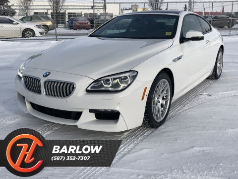 Pre-Owned 2016 BMW 6 Series 2dr Cpe 650i /Back up Camera/ Heated Leather Seats