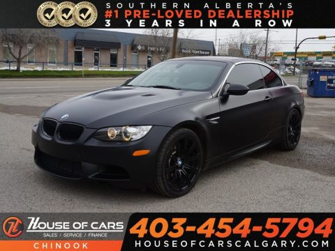 Pre-Owned 2011 BMW M3 Hard-Top w/ Heated Seats,Bluetooth,Navigation