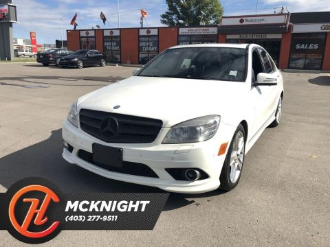 Pre-Owned 2010 Mercedes-Benz C-Class C300 4MATIC / Leather / Sunroof